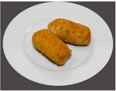 Крокеты с мясом, грибами