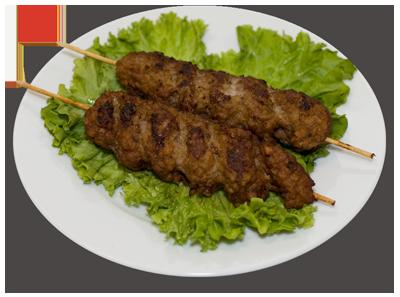 Люля-кебаб на палочке (баранина)