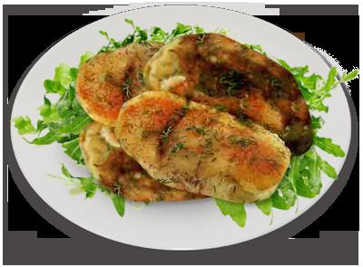 Котлеты картофельные с луком