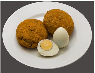 Котлеты `Гурман` с яйцом
